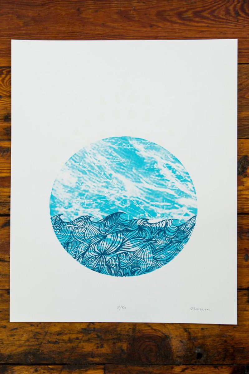 29 Times (Gales Of November) / Screen Printed Art Print