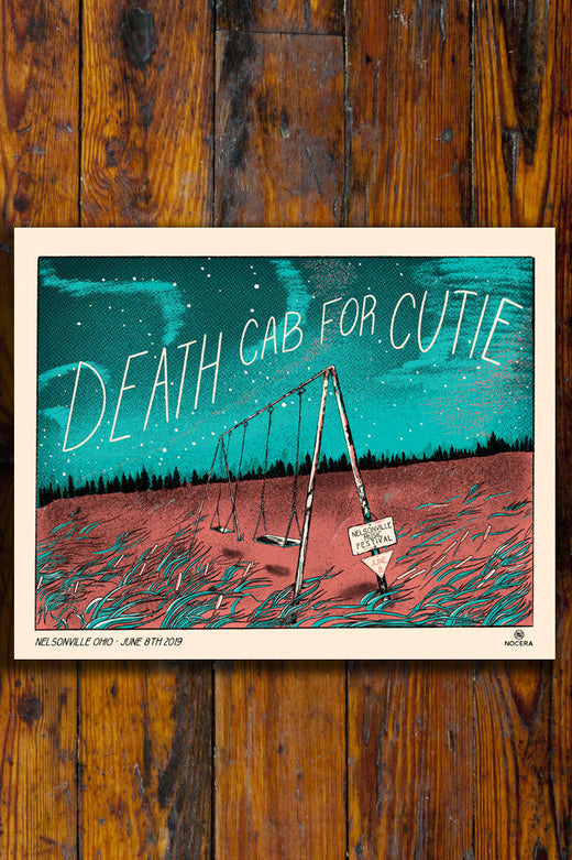 Death Cab For Cutie Poster Nelsonville