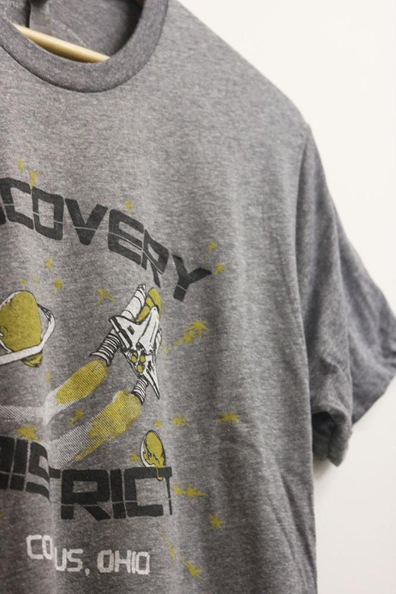 Discovery District Mens T-shirt