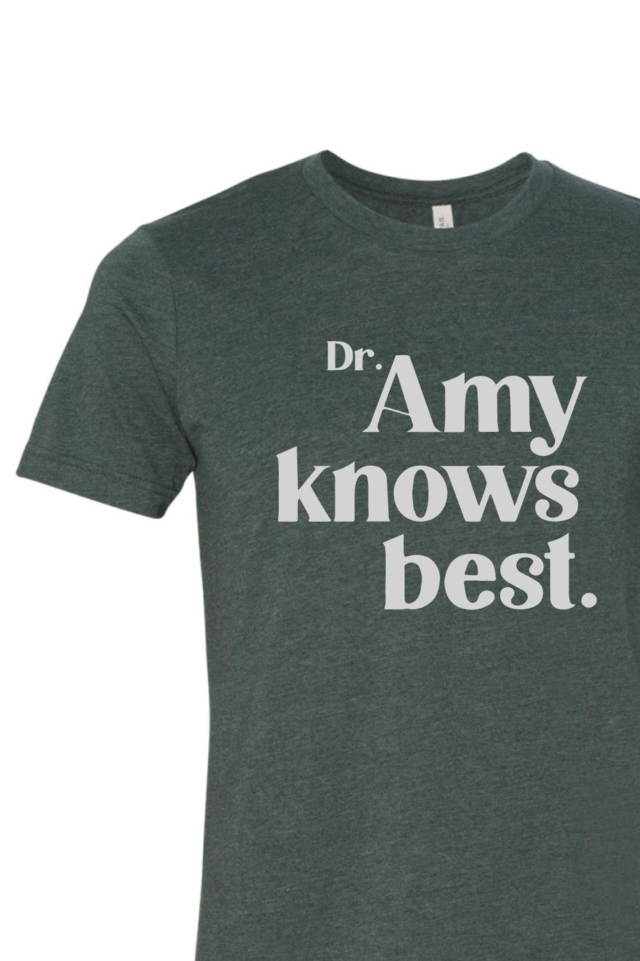 Dr. Amy Knows Best Unisex T-shirt