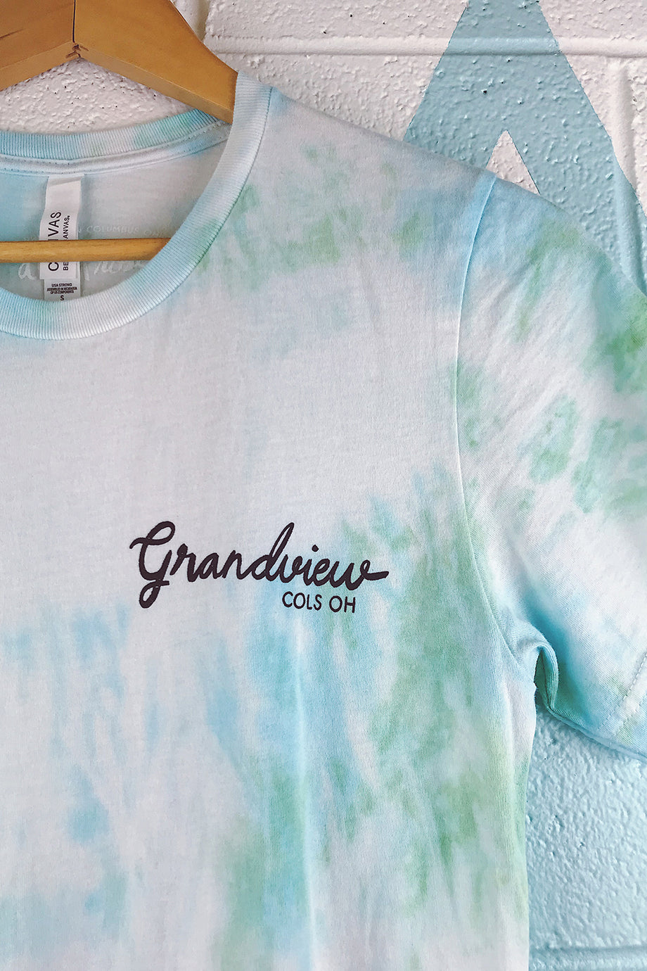Grandview Neighborhood Tie Dyed Mens T-shirt