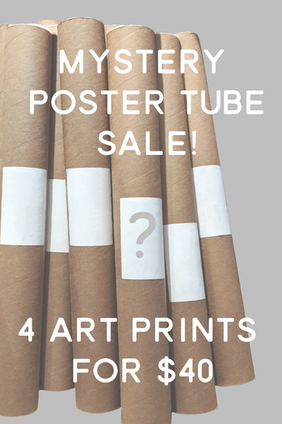 Mystery Poster Tube Sale!