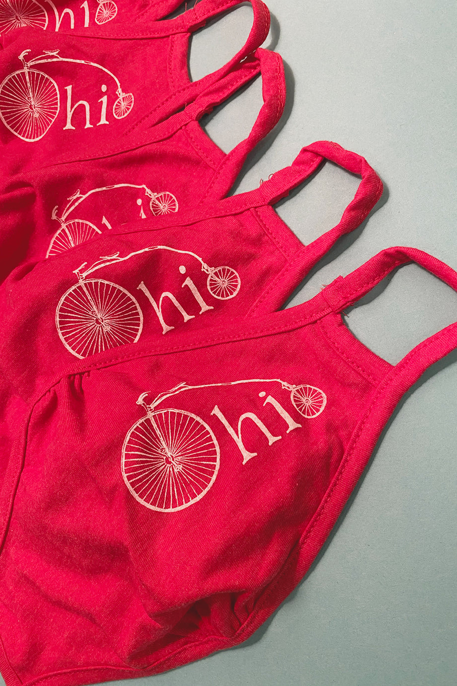 Ohio Bike Printed 2-ply Cloth Mask