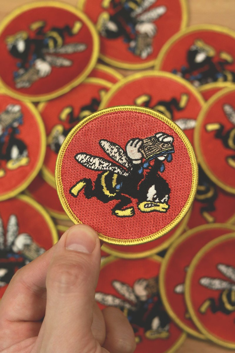 Hand Print Squad Embroidered Patch