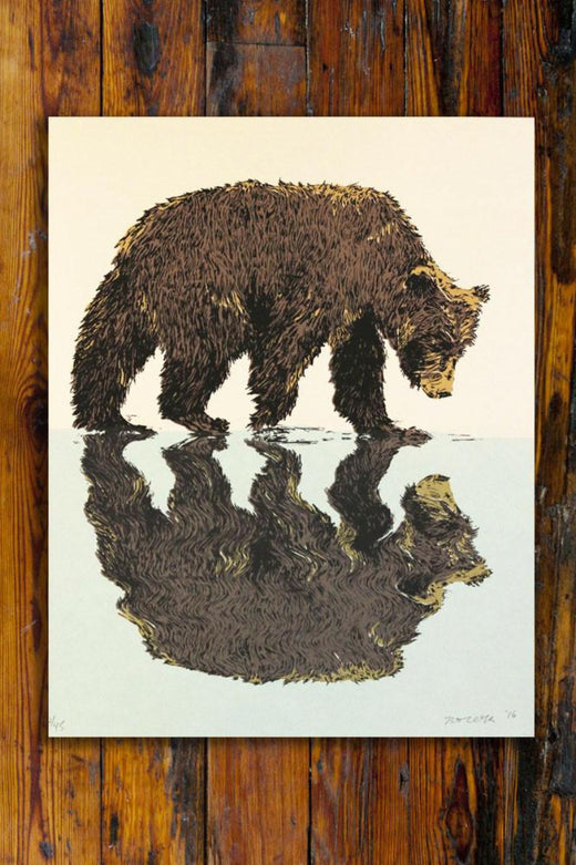 Reflect / Screen Printed Art Print