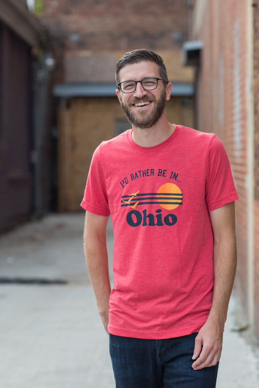 I'd Rather be in Ohio Mens T-shirt