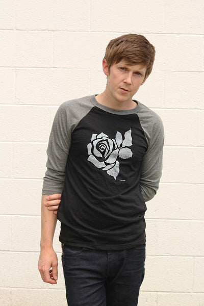 Rose Logo Baseball Raglan