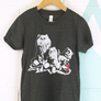 Mellow Kitties T-shirt / Mens and Youth