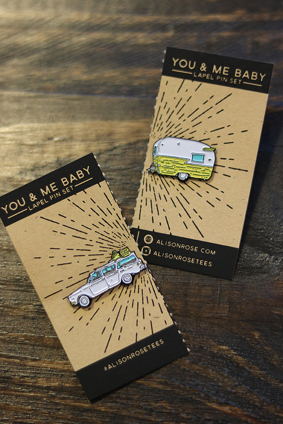 Nobody Baby But You & Me Pins- Soft Enamel Pin Set