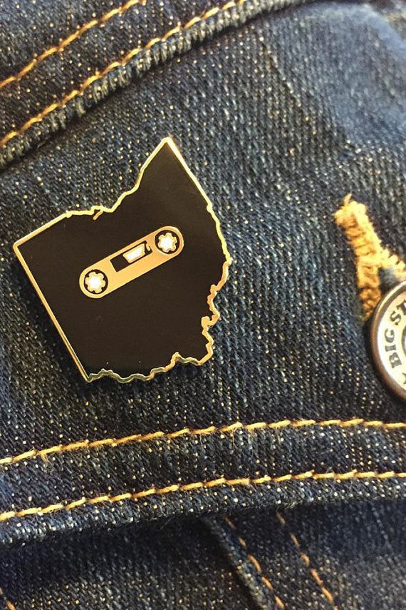 Ohio Mixtape Enamel Pin