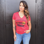 I'd Rather be in Ohio Ladies T-shirt