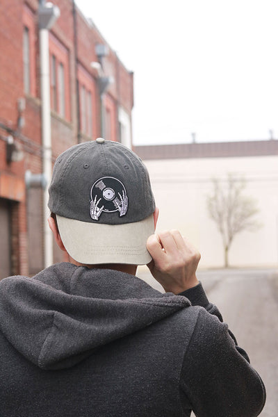 Vinyl is not Dead Black Twill Hat