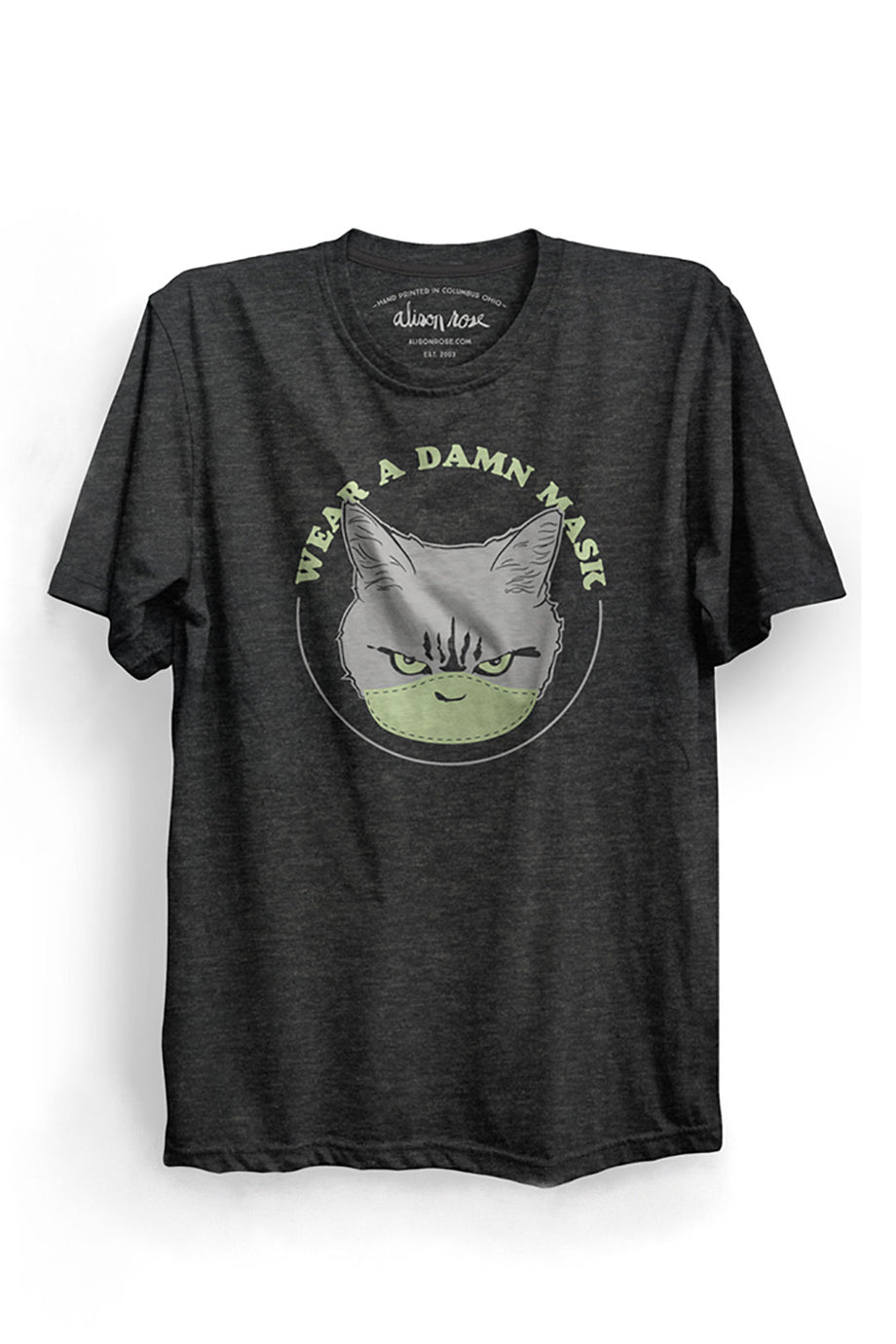 Wear a Damn Mask Mens T-shirt