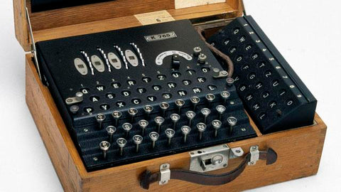 Enigma Spy Decoded Machine