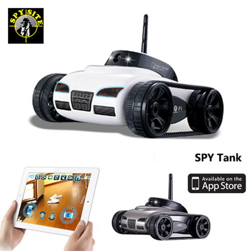 WiFi Spy Camera Tank Toy RC Car