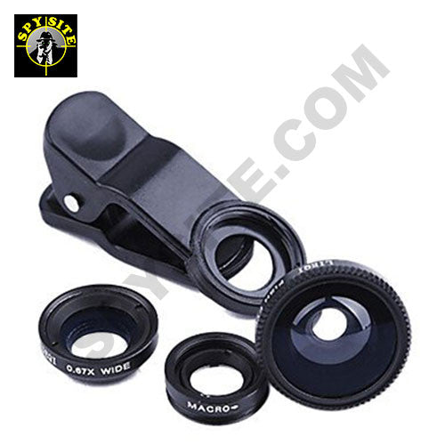 cellphone and tablet mobile clip-on lens