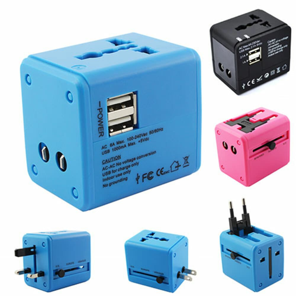 World Traveler USB Power Adapter