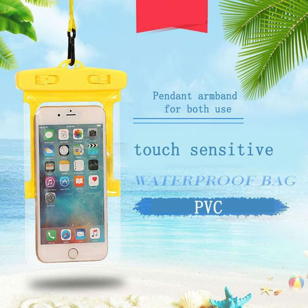 Universal Waterproof Phone Bag with Armband - Waterproof wallet