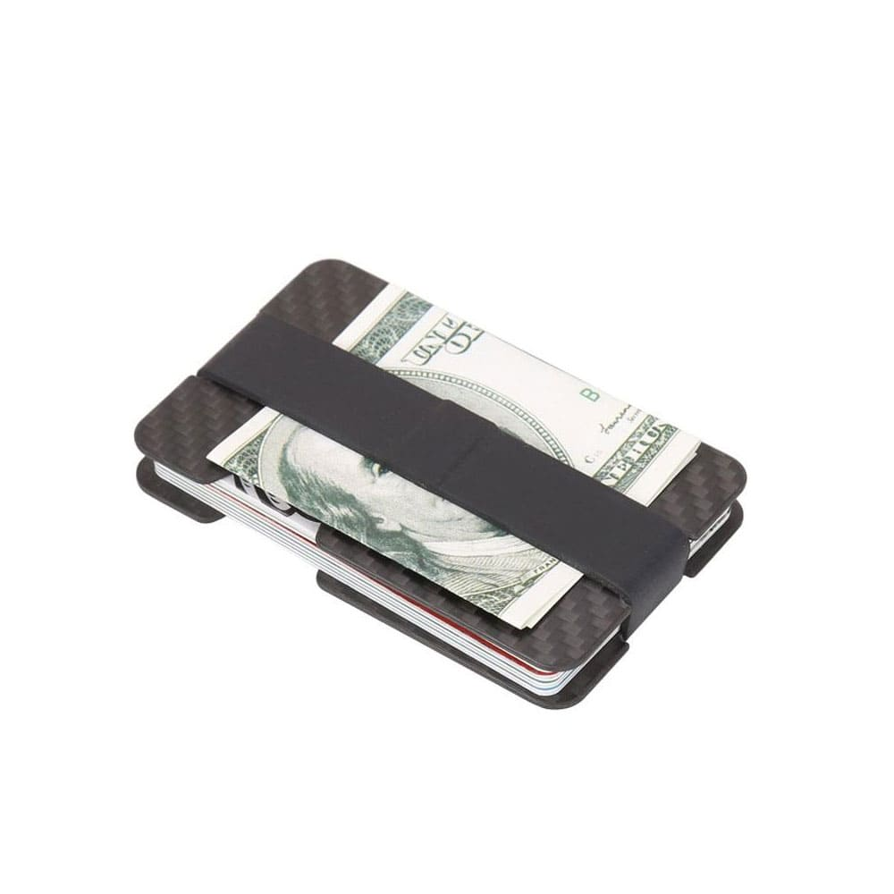 Ultra Light Expandable Money Clip RFID Blocking Wallet