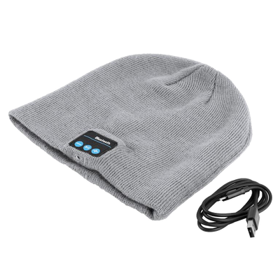 Bluetooth ski hat headset
