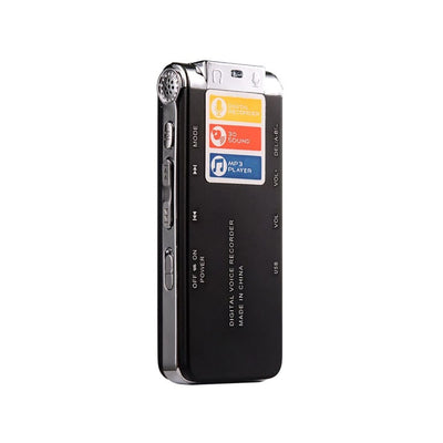 Portable Digital Voice Recorder with sound activation