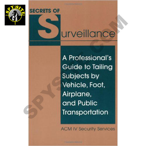 Secrets of Surveillance Book