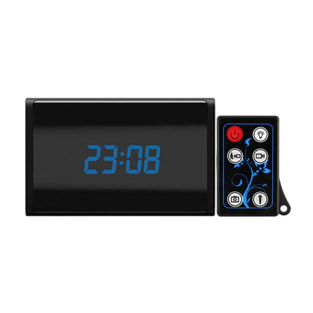 Motion Activated Spy Desk Clock Camera & DVR