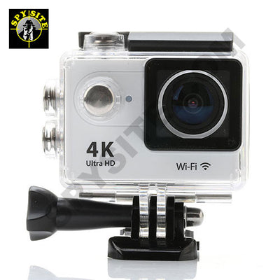 4K Ultra HD Action Camera with WiFi and Accessories