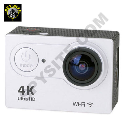 4K Ultra HD Sports Action Camera with WiFi and Accessories