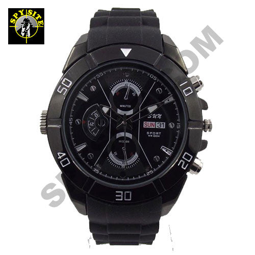 Professional Night Vision Wristwatch Covert Camera
