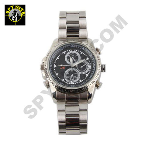 Stainless Steel Spy Watch Camera DVR