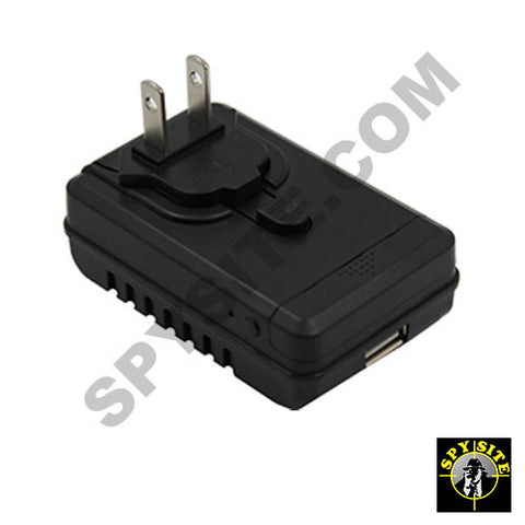 WiFi Spy Power Adapter Camera