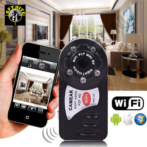 Miniature wifi camera