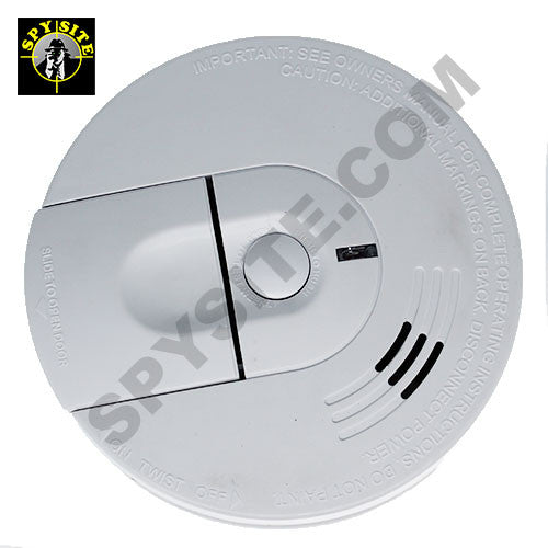 Side View Wifi Smoke Detector Spy Camera & DVR - Wireless Hidden Camera