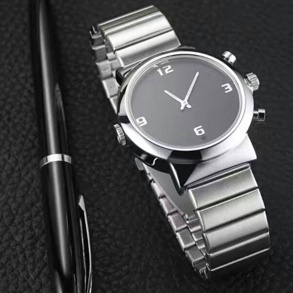 Professional Executive Wristwatch Covert Camera