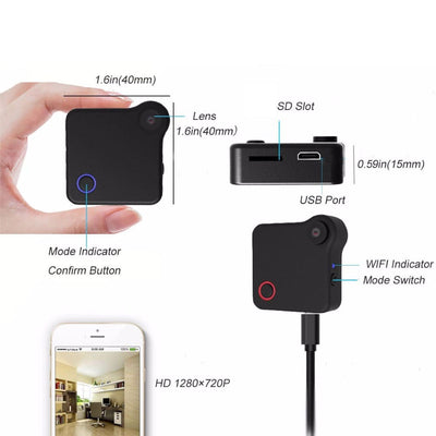 Micro Wearable DVR camera