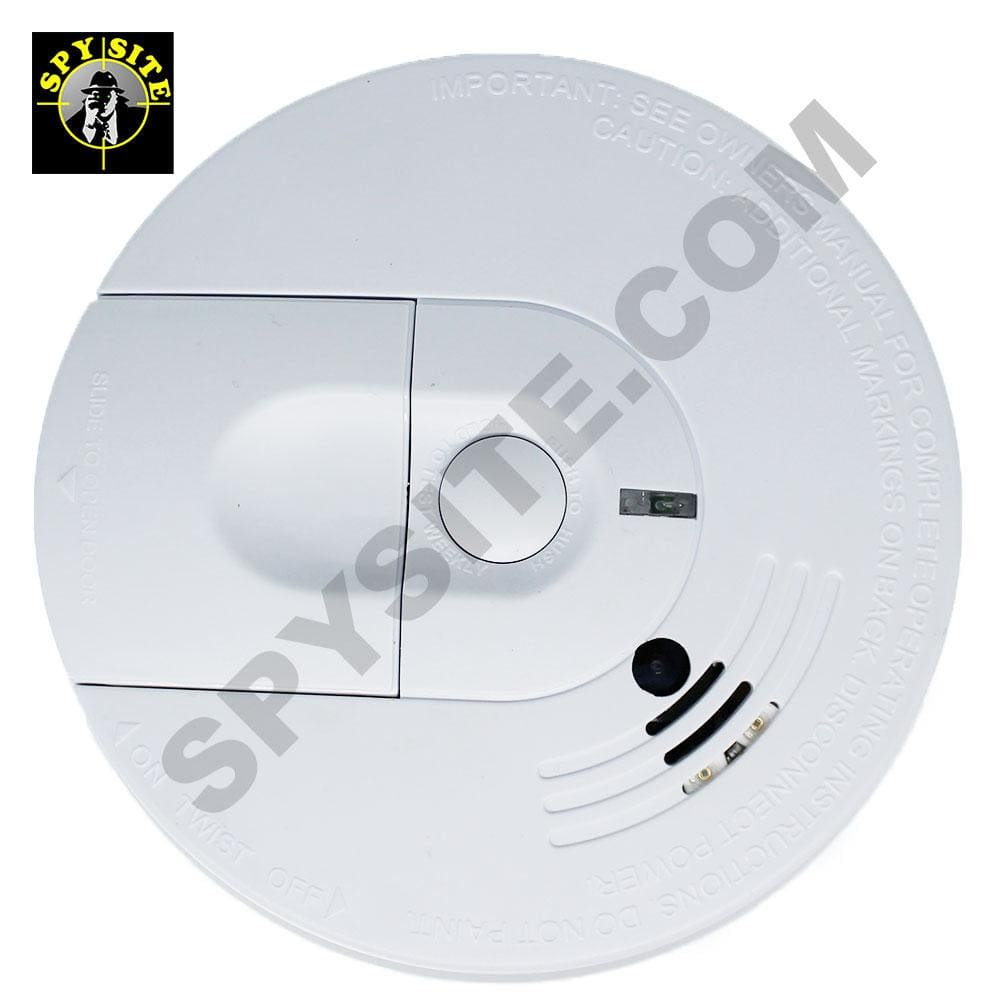 TOP View Wifi Smoke Detector Spy Camera & DVR - Wireless Hidden Camera