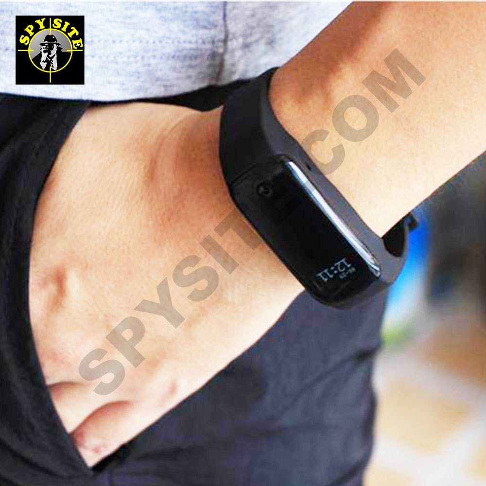 Spy Fitness Tracker Bracelet Camera DVR