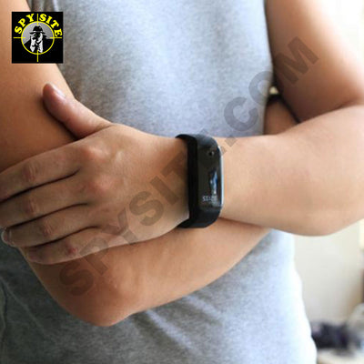 Spy Fitness Tracker Bracelet Camera