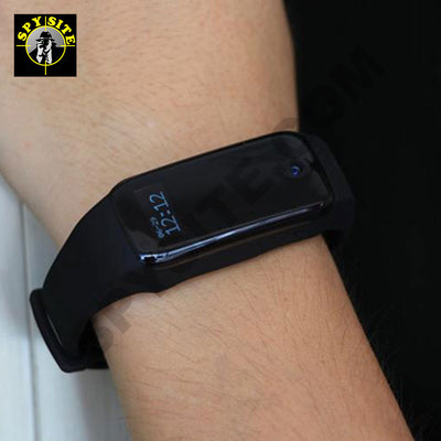 Hidden Camera Fitband DVR