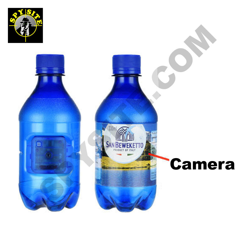 Mineral Water Portable Water Bottle Camera & DVR