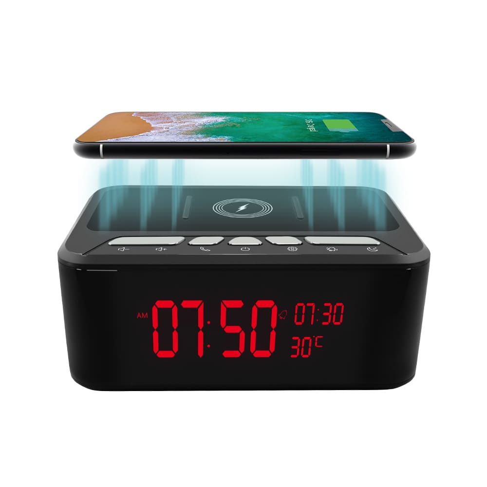 Wifi Wireless Charger Bluetooth Speaker IR Camera & DVR - Wireless Security Camera