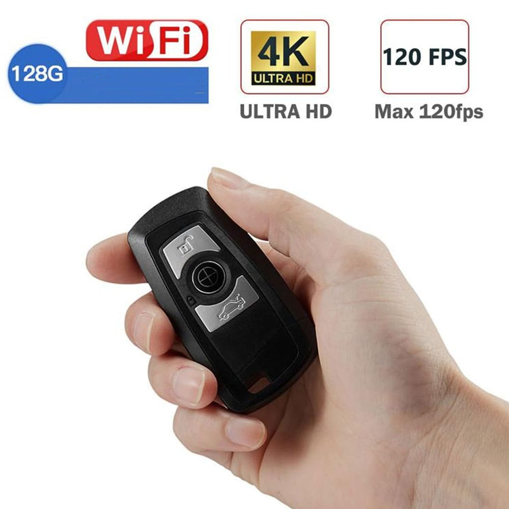 4 K Wifi Car Keyfob Hidden Camera DVR