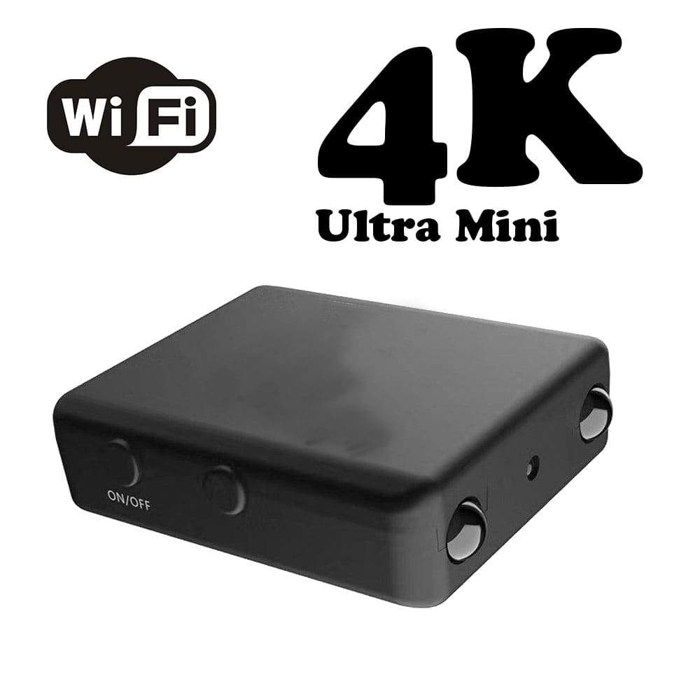 Super Mini 4K Wi-Fi Camera with Night Vision