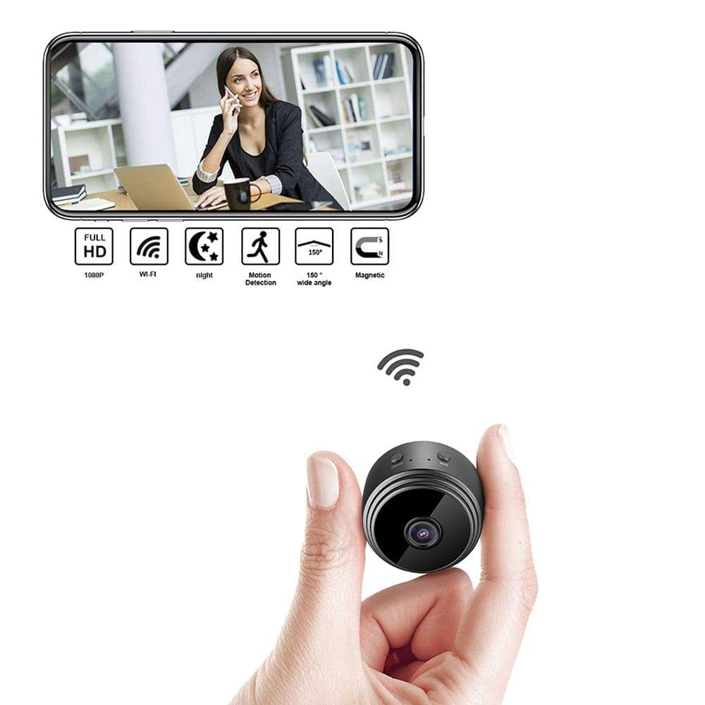 Miniature Wi-Fi Camera