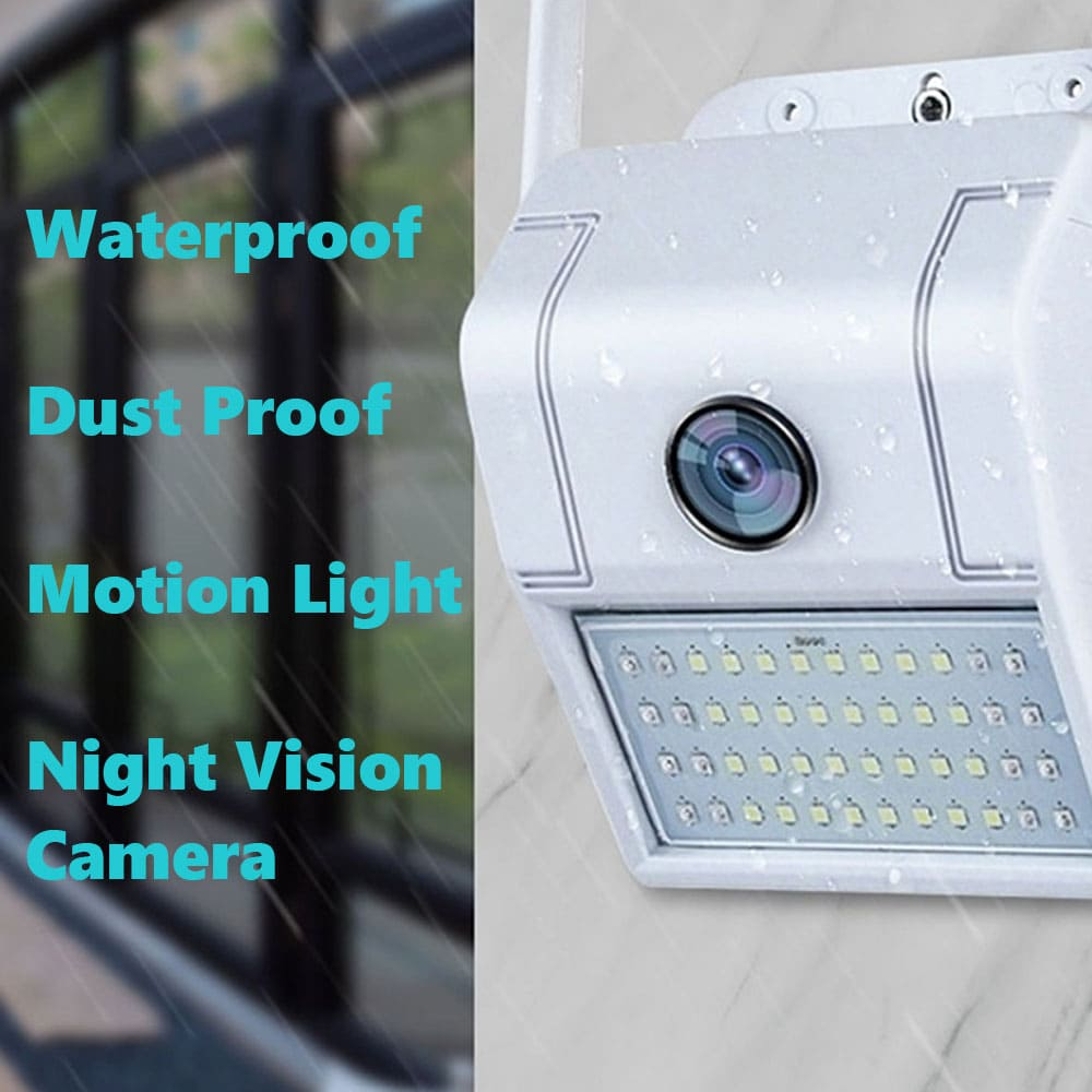 WiFi Night Vision LED Outdoor Motion Light