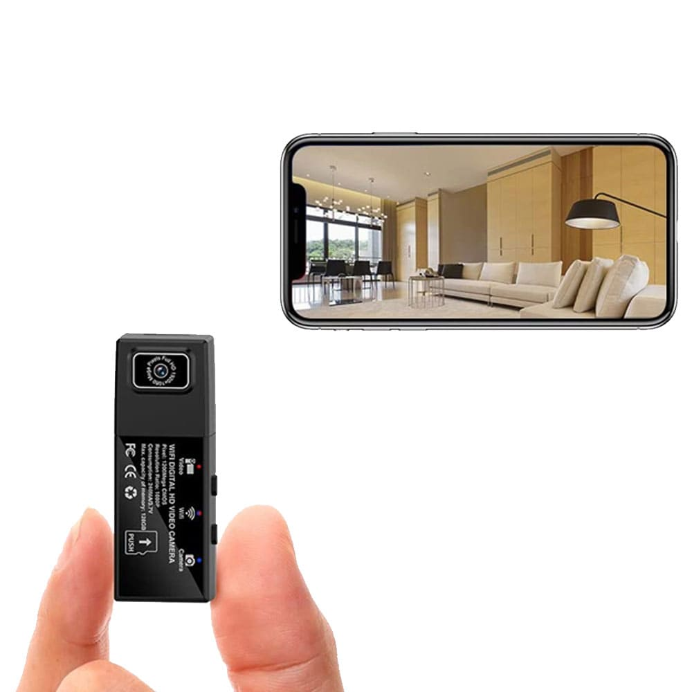 1080P HD WiFi DVR Camera With Multi-Lens