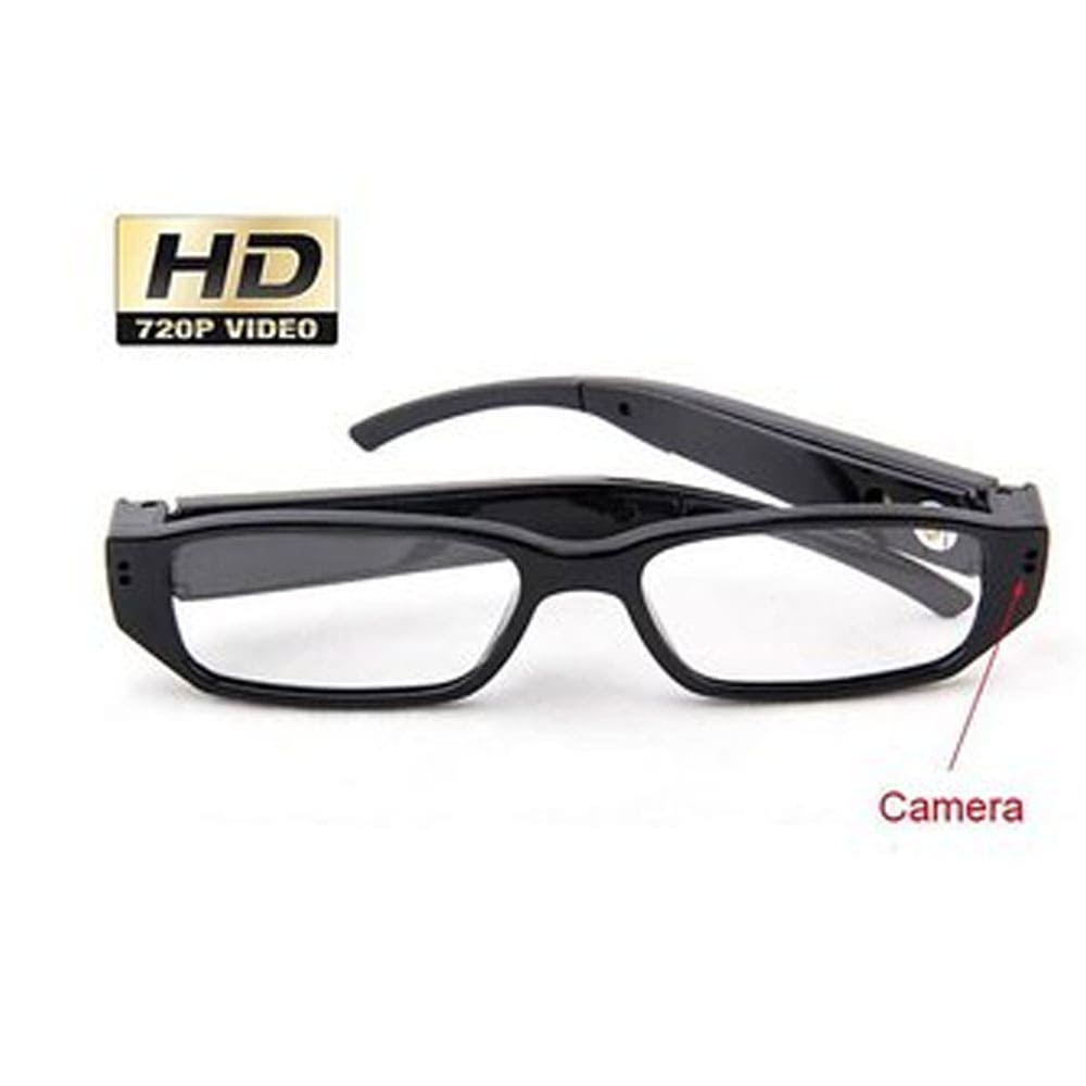 Ultra Light Hidden Clear Lens Reading Eyeglasses Spy Camera DVR