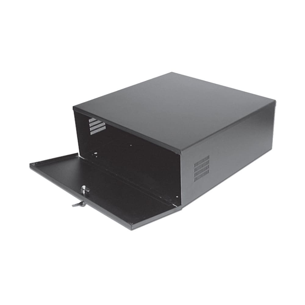 Video Recorder Locking Box Safe with Fan