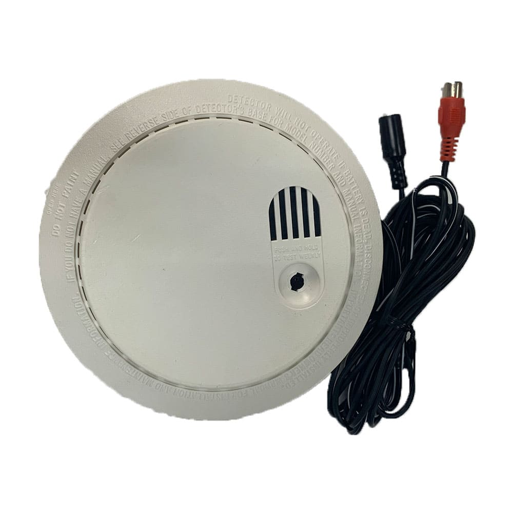 Top View Smoke Detector Hidden Camera